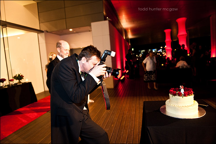 yes, this is robert photographing his own cake.. (he can't help himself)  :D