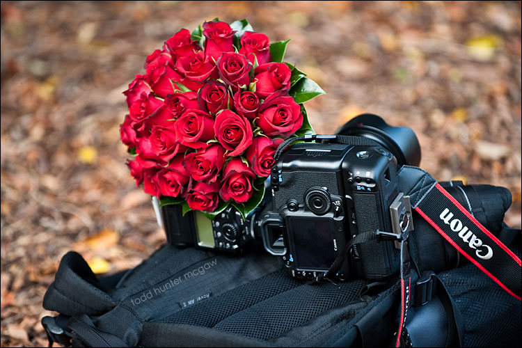 his & hers bouquets  ;)