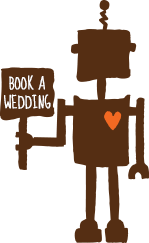 book a wedding